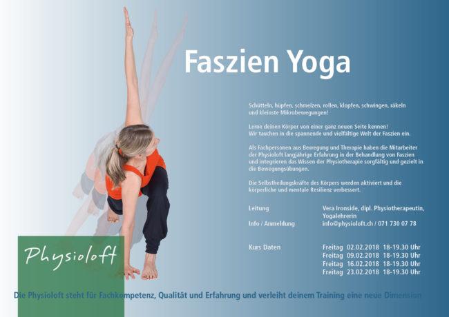 Faszien Yoga mit Vera im Februar 2018
