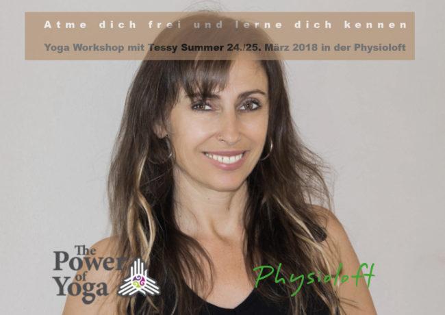 Yoga Workshop mit Tessy Summer 24./25. März 2018