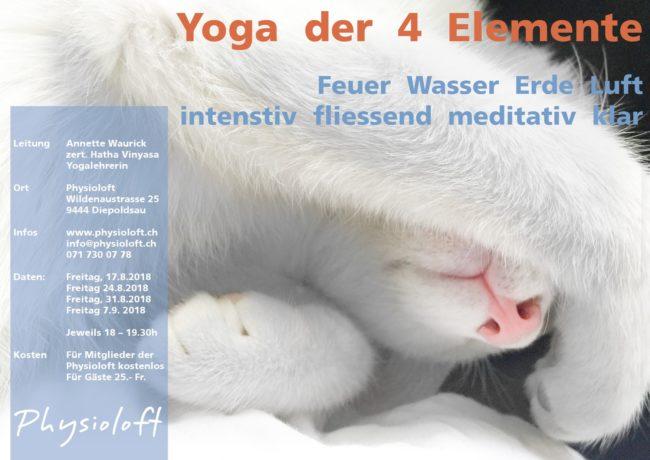 Yoga der 4 Elemente