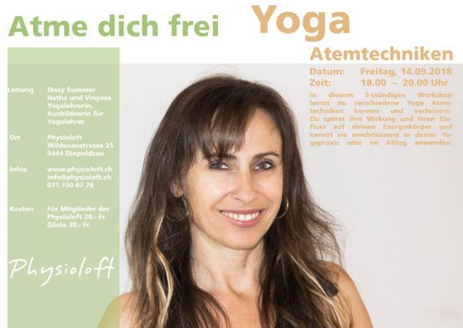 Atme dich frei / Yoga