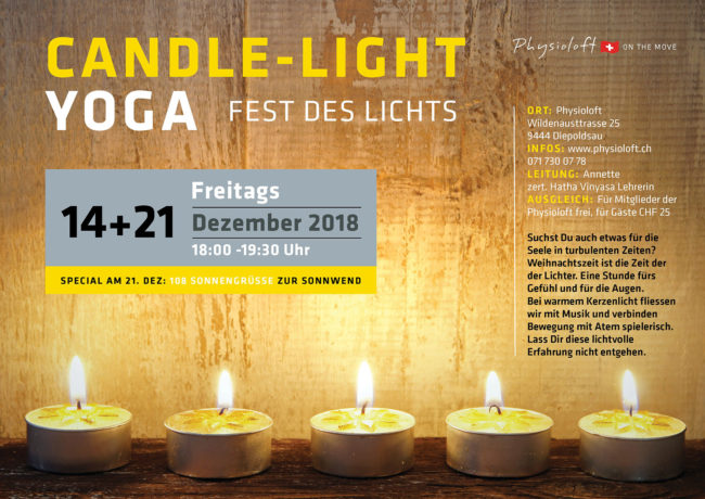 Candle-Light Yoga mit Annette