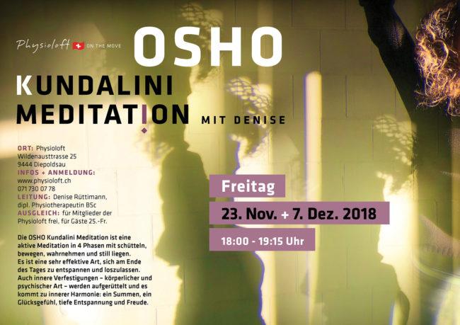 Osho Kundalinin Meditation mit Denise