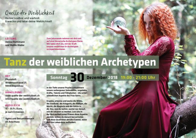 Tanz der weiblichen Archetypen