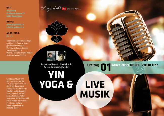 Yin Yoga & Live Musik - das Konzert auf der Matte