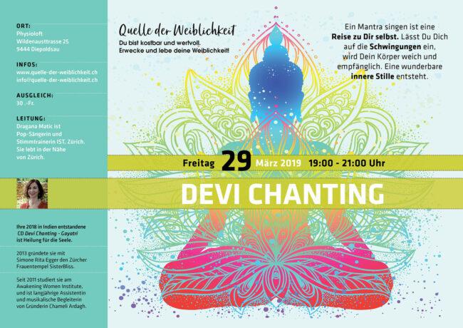 Devi Chanting - Mantra singen mit Dragana