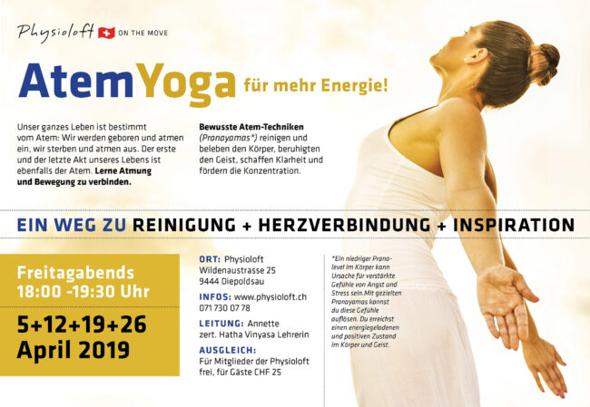 Atem Yoga - im April 2019