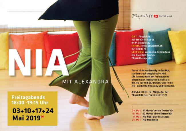 Nia mit Alexandra - im Mai 2019