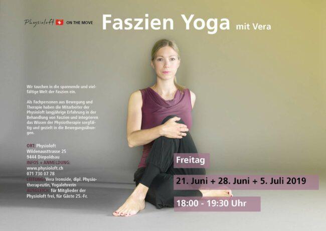 Faszien Yoga mit Vera