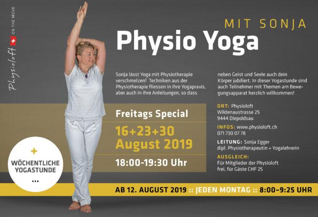 Physio Yoga mit Sonja