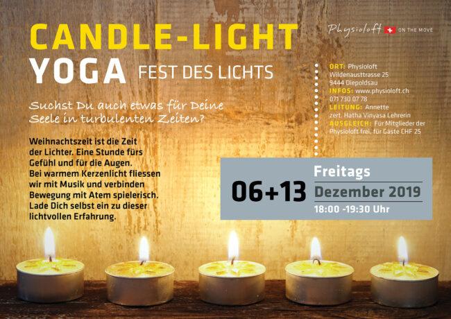 CANDLE-LIGHT YOGA