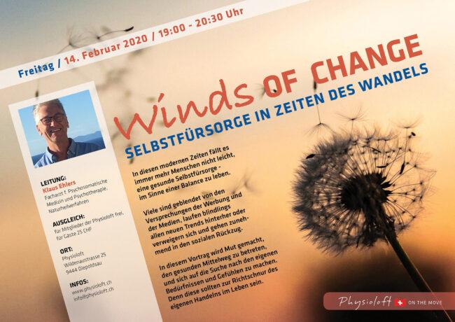 Winds of Change, Selbstfürsorge in Zeiten des Wandels