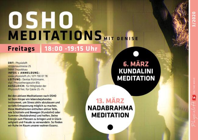 OSHO MEDITATIONS mit Denise
